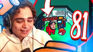 ON PIÈGE GOTAGA SUR AMONG US - BEST OF KOTEI & KAMETO #81