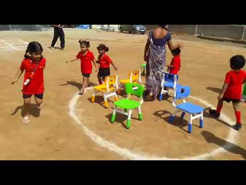 SGS: Musical Chair Competition for PP1 Kids