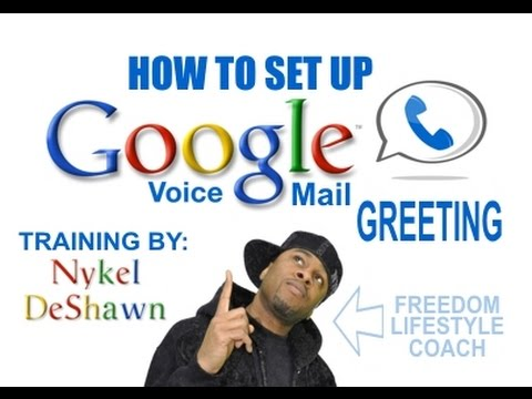 How to Set Up a Voicemail Greeting for Google Voice
