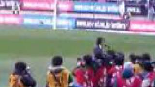 2008年Jリーグ開幕戦 鹿島アントラーズVSコンサドーレ札幌 君が代 独唱...