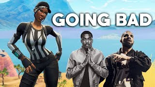 """Download Mp3 Fortnite Montage - """"going Bad""""  Drake & Meek Mill"""