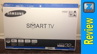 Samsung UE32J5600 Smart TV Setup and Review