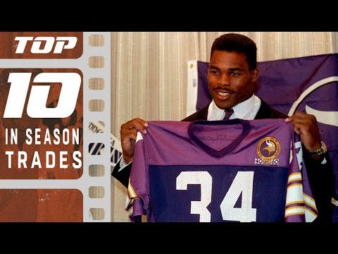 Top 10 In-Season Trades of All Time! | NFL Films