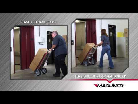 SELF-STABILIZING™ (SS) HAND TRUCK
