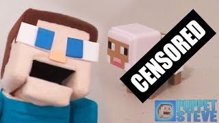 Puppet Steve Minecraft Toy Unboxing! Unboxing Series 4 Obsidian Mini Figures Minecraft Toys!