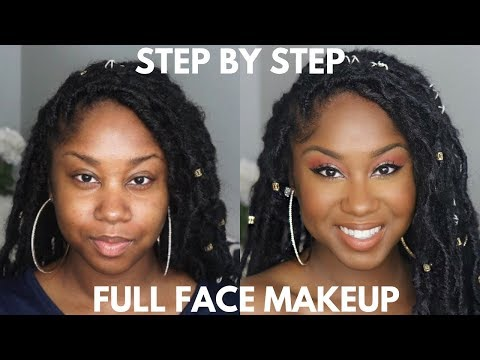 STEP BY STEP EASY FULL FACE MAKEUP TUTORIAL | ONLY 3 EYESHADOWS!
