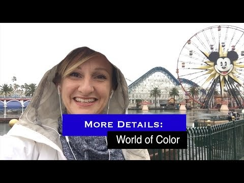 More Details About World Of Color  - FastPasses And Dining Packages - DisneyCalifornia Adventure