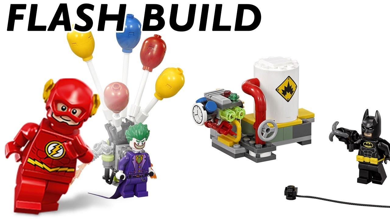 speed build lego batman movie joker 39 s balloon escape. Black Bedroom Furniture Sets. Home Design Ideas