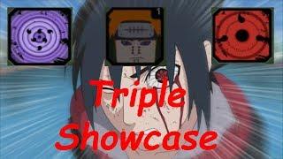 SASUKE RINNEGAN, SHARINGAN & PAIN COMPANION Showcase | ROBLOX | Naruto Beyond