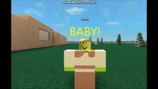 Baby Justin Bieber Roblox Music Video (Featuring SHREK)