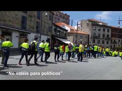 """El PSOE denuncia insultos por parte de los trabajadores de Ence: """"¡Payasos!"""""""