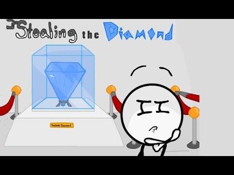 Stealing the diamond | Эпичная кража алмаза