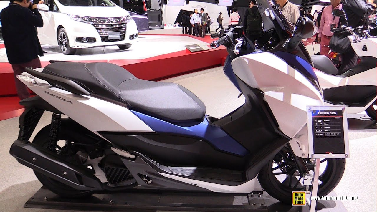 2016 honda forza 125 scooter walkaround 2015 tokyo. Black Bedroom Furniture Sets. Home Design Ideas