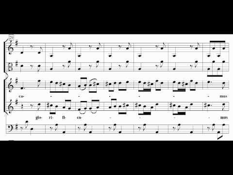 Vivaldi - Gloria RV589 - III.Laudamus Te (score)
