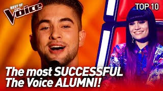 The most SUCCESSFUL talents after The Voice  TOP 10