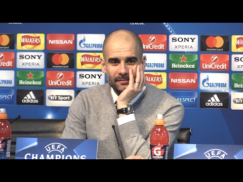 Manchester City 5-3 Monaco - Pep Guardiola Full Post Match Press Conference - Champions League