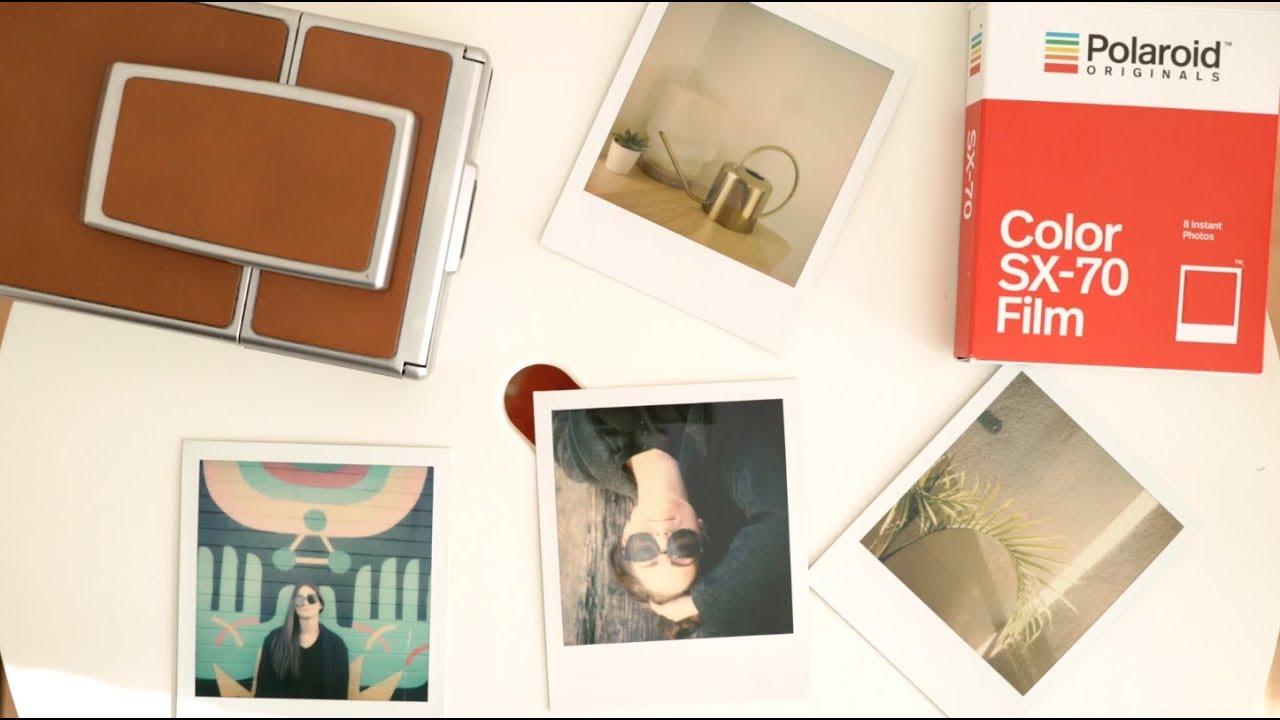Polaroid Originals Colour Film for SX-70 instant film Cameras