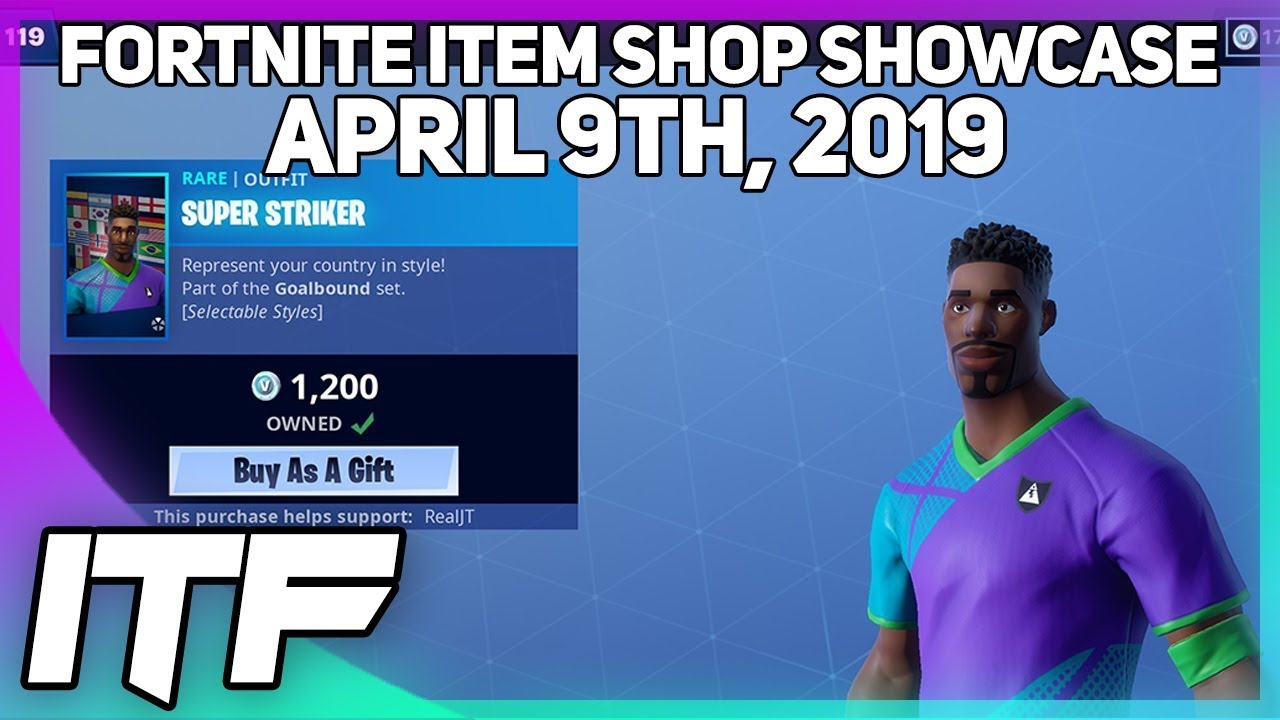 Fortnite Item Shop Soccer Skins Are Still Here April 9th 2019
