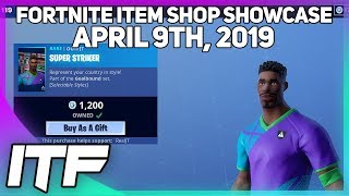 Fortnite Item Shop SOCCER SKINS ARE STILL HERE! [April 9th, 2019] (Fortnite Battle Royale)