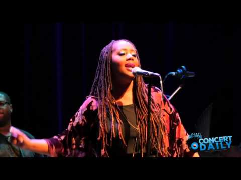 "Lalah Hathaway performs ""Little Ghetto Boy"" live at the Howard Theatre"
