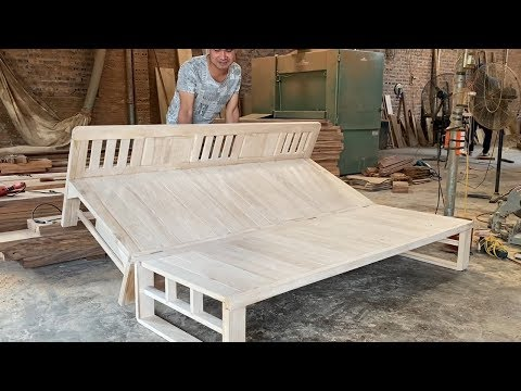 how-to-build-a-smart-chair-combination-with-bed---design-ideas-woodworking-project-smart-furniture
