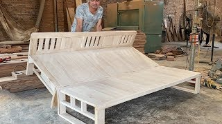 How To Build A Smart Chair Combination With Bed - Design Ideas Woodworking Project Smart Furniture