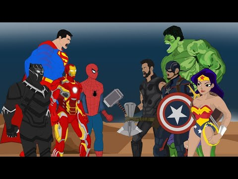 30 Minutes Funny Cartoon Of SUPER HEROES MOVIE ANIMATION