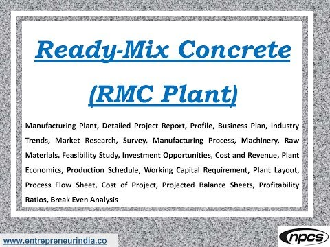How to Start a Ready-mixed Concrete Business