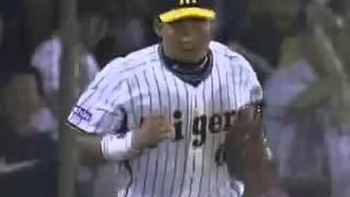 2008年 7月阪神対中日戦 もう見る事のできないであろう金本の スーパー...