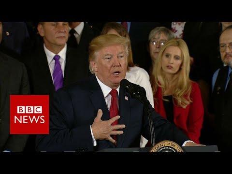 Opioid crisis: Trump shares brother's fatal addiction story - BBC News