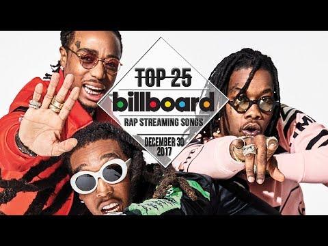 Top 25 • Billboard Rap Songs • December 30, 2017   Streaming-Charts