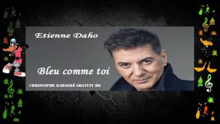 Etienne Daho   Bleu comme toi Karaoké