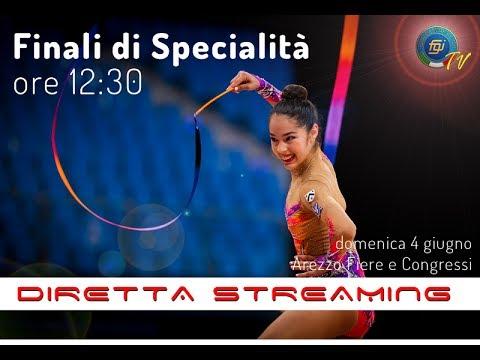 Arezzo - Campionati Italiani Assoluti GR (Finali di Specialità Individuali)