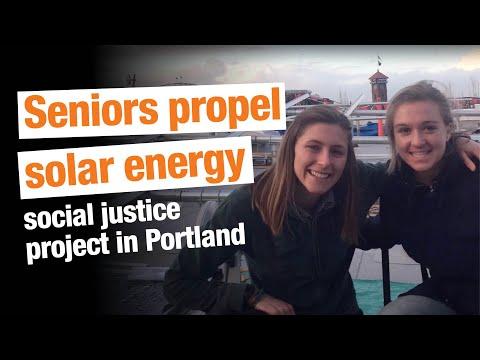 Lewis & Clark Seniors Propel Solar Energy Justice