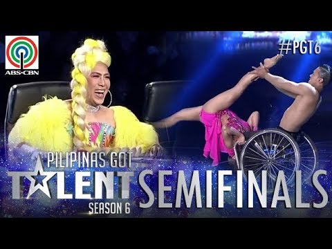 Pilipinas Got Talent 2018 Semifinals: Julius and Rhea- Wheelchair Dance