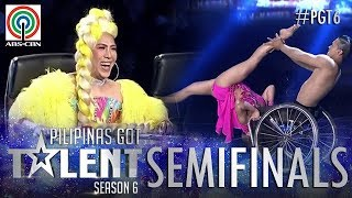 Pilipinas Got Talent 2018 Semifinals: Julius and Rhea- Wheelchair Dance thumbnail
