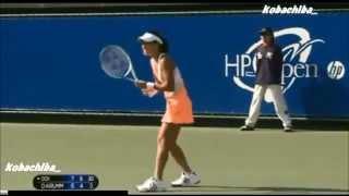 【テニス】 HPジャパン女子オープン クルム伊達公子 vs 土居美咲 【2回戦】 2013/10/09