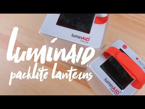 LuminAID PackLite Max & Nova Solar Lantern Review