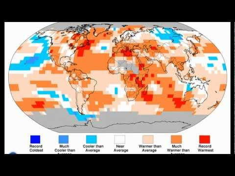 GLOBAL CLIMATE REPORT -- AUGUST 2012