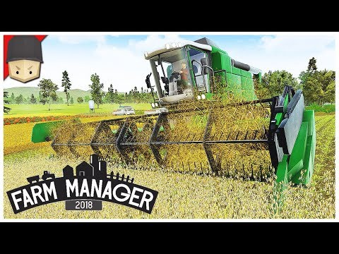 FARM MANAGER 2018 - Ep.02 : THE BIG HARVEST!