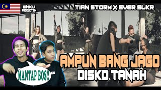 Download lagu MALAYSIA REACTION | AMPUN BANG JAGO - Tian Storm x Ever Slkr (Official Music Video) DISKO TANAH