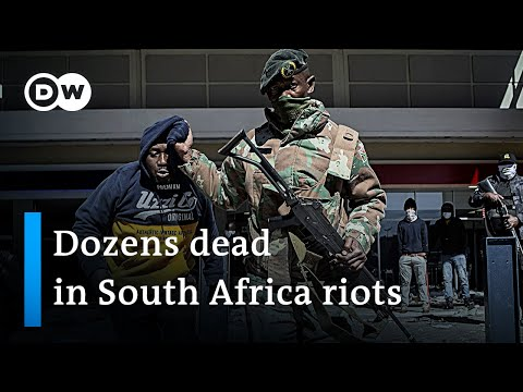 South Africa sends 25,000 soldiers to stop looting   DW News