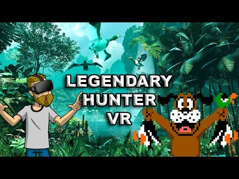 DUCK HUNTING IN VR! | Legendary Hunter VR - Oculus Rift