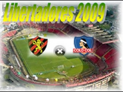 Sport Recife 2 x 1 Colo-Colo - Libertadores 22/04/2009 - Jogo Completo