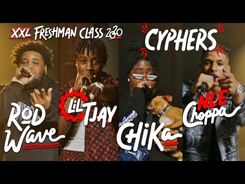 NLE Choppa, Rod Wave, Lil Tjay and Chika's 2020 XXL Freshman Cypher