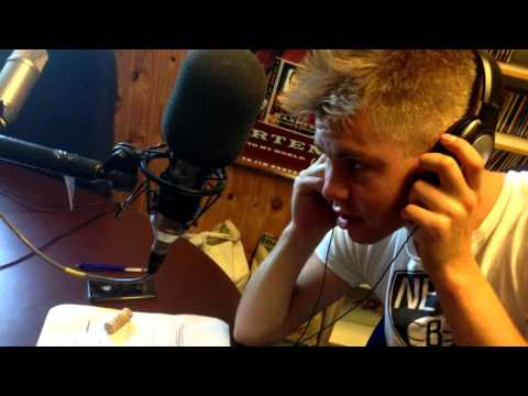 Journalistlinjeelev Simon Skou, Rønde Højskole i Radio Rønde