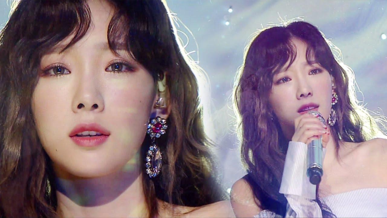 《Comeback Special》 Taeyeon (태연) – Fine @인기가요 Inkigayo 20170305