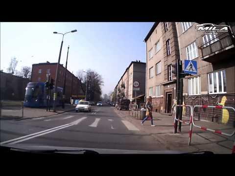 MORD Kraków Balicka - Przykładowa trasa egzaminacyjna #1