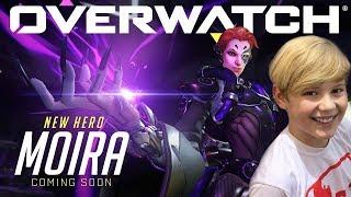 Overwatch Pro GamePlay PS4 #21 MOIRA GAMEPLAY | Overwatch (NEW HERO!)