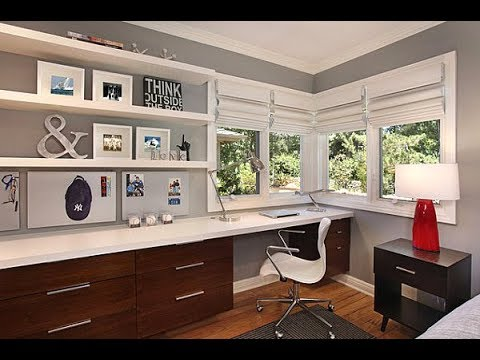 Top 40 Office Bedroom Design Ideas   Best Decorating For Small Room On a Budget 2018